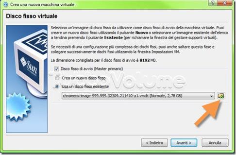 Chrome OS aggiungi disco