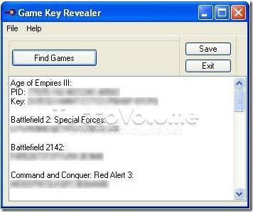 Game Key Revealer