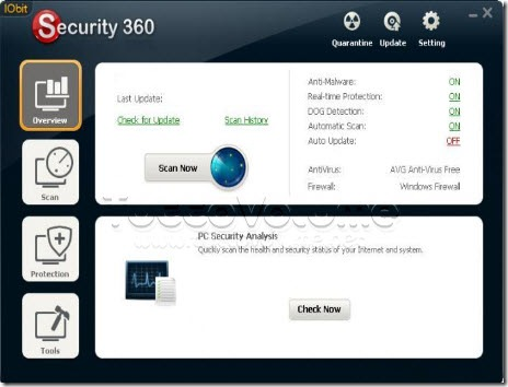 IOBit Security 360 gratis