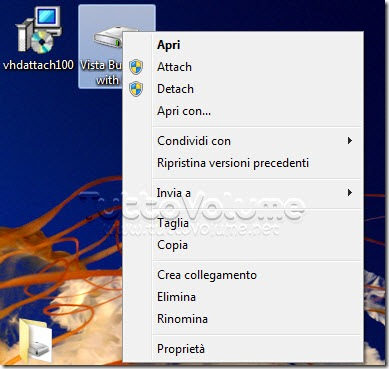 Monta file VHD