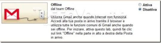 Offline Gmail Gadget