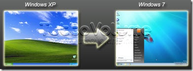 Windows xp a WIndows 7