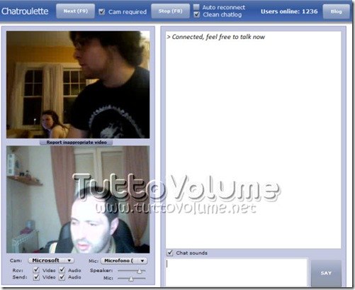 Webcam Chat Room Over