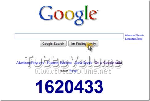 Google New Year Countdown