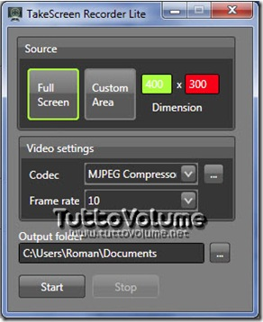 TakeScreen Recorder Lite