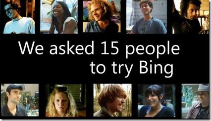 Utenti Google provano Bing