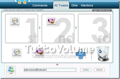 TweetSwitch-configurazione