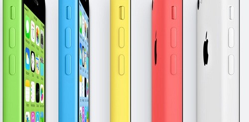 iPhone 5C - low cost smart phone by apple