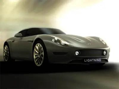 illuminazione gt uk auto sportiva elettrica