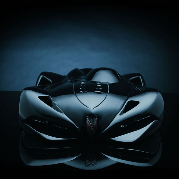 Aqos Le Mans Futuristic Car