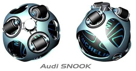concetto di trasporto audi snook