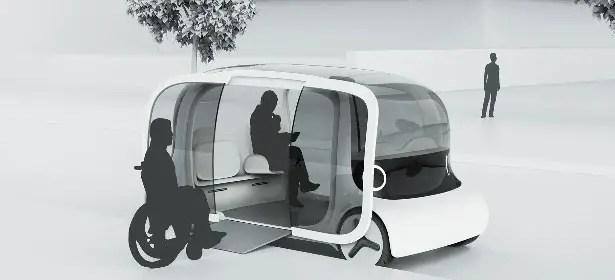 Bot Autonomous Cab by Chris Luchowiec