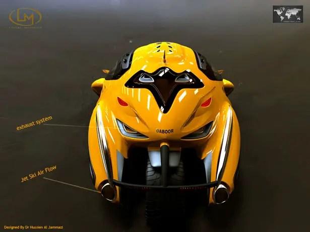Daboor Jet Ski Vehicle