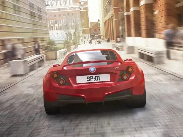 سيارة ديترويت الكهربائية SP: 01 سيارة رياضية