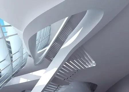 dubai opera house by zaha hadid