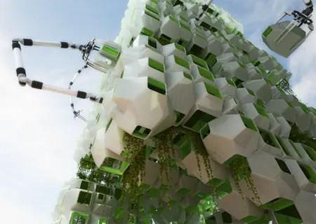 eco pods architectural design