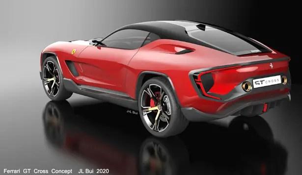 سيارة فيراري جي تي كروس كونسيبت من جان لوي بوي