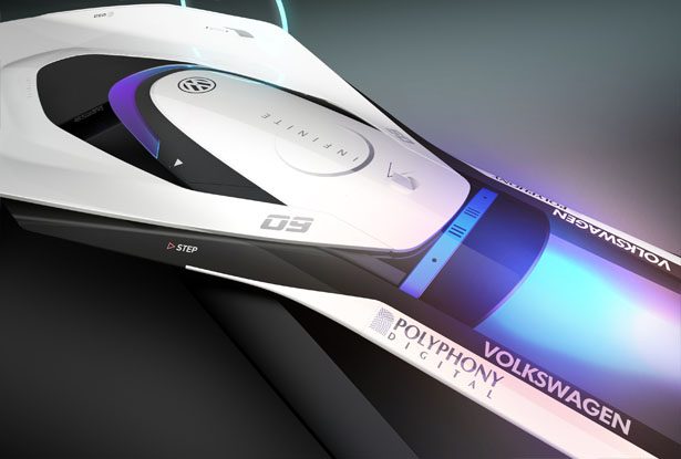 Futuristic Vision GT Concept Car Study for Volkswagen by Corentin Bricout, Adrian Godin-Bernard, Léon-Georges Not, Kevin Sebastien