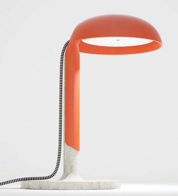 Here - lamp desk by Serge Atallah