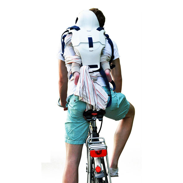 IGI Baby Protector While Cycling by Constanze Hosp
