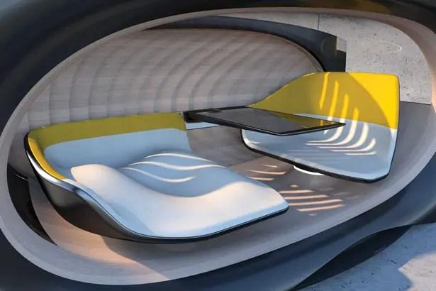الحكم الذاتي الفردي هو رؤية مستقبلية للمركبة الخاصة المستقلة من Changan Automobile