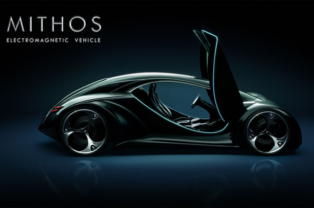 MITHOS Electromagnetic Vehicle by Tiago Miguel Inacio