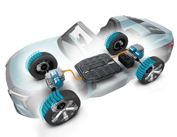 يمنحك مفهوم Mitsubishi MI-TECH Hybrid SUV الثقة على جميع التضاريس في الضوء والرياح