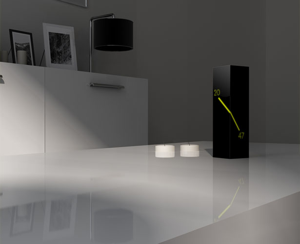 Monolith Clock Concept