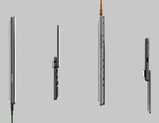 OP-S هاتف ذكي مزود بمزج مدمج من تصميم Gris