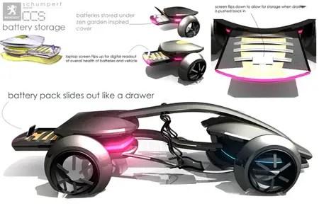 peugeot epine futuristic car