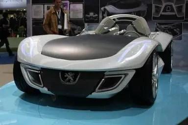 Peugeot futuristico