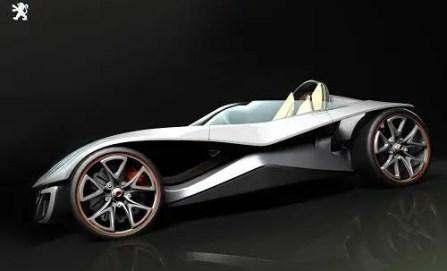 concetto di Peugeot Flux Car