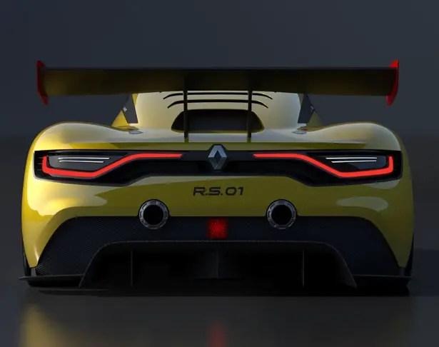 رينو سبورت RS 01 سيارة سباق
