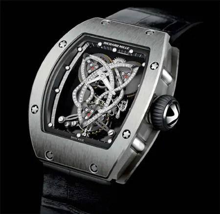 richard mille rm019 celtic knot watch