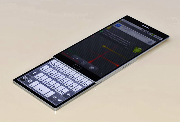 Rotatable Twin Touch Display Mobile Phone by Abhi Muktheeswarar