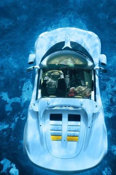futura macchina subacquea