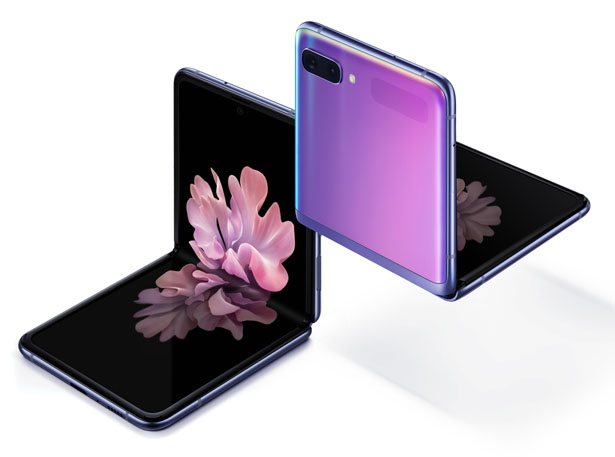 هاتف Samsung Galaxy Z Flip الخليوي