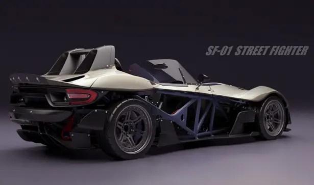 SF-01 Street Fighter Concept Car di Greg Thompson
