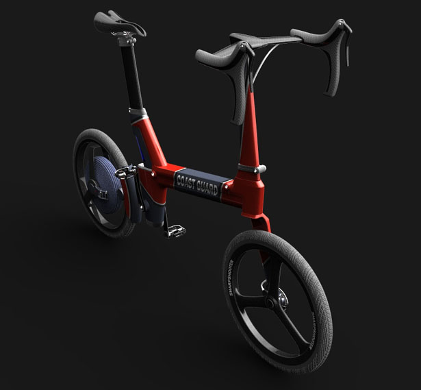 SharpShooter Rescue Patrol Electric Bicycle by Jurmol Yao