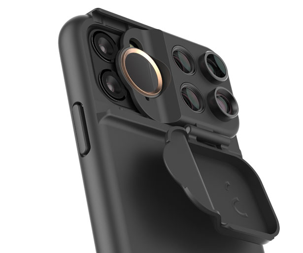 جراب Shiftcam متعدد العدسات مصمم خصيصًا لهاتف iPhone 11