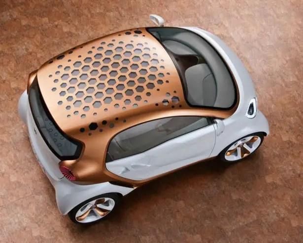سيارة دايملر سمارت فورفيجن مستقبلية