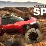 """سيارة جيب سبايدر للطرق الوعرة بطائرة بدون طيار بواسطة واين جونغ """"hspace ="""" 5"""