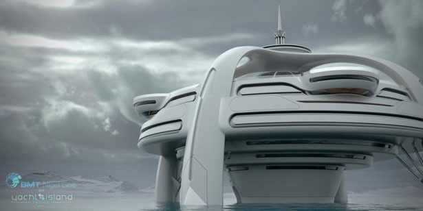 Utopia Yacht A Vision Of Future Yacht By BMT Nigel Gee