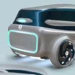 """Concept car Volkswagen ID5 2050 di Miguel Mojica """"hspace ="""" 5"""