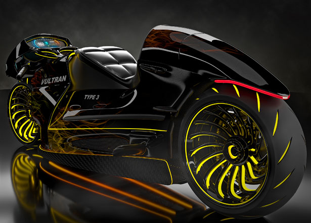 Led Light Motorcycle