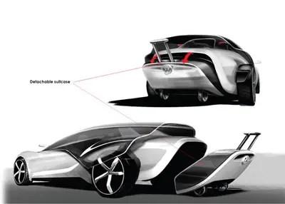 concept car volkswagen viseo di marc kirsch