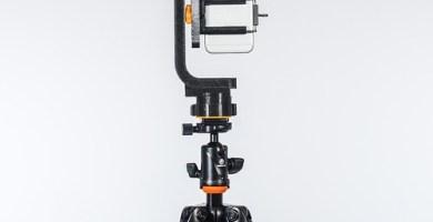 La rótula Tayrona 360 con un Iphone