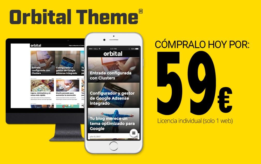 Comprar Orbittal Theme con cupón de descuento por 59 euros barato
