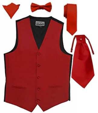 Vest With Cravats