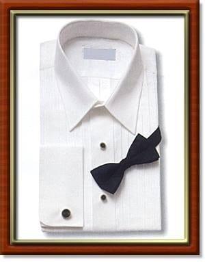 French Cuff Tuxedo Shirts
